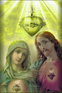 Sagrados Corazones de Jesús y María.