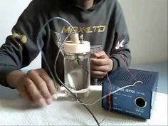 My homemade HHO generator--generateur HHO