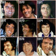 Elvis: 1969 - 1977 Makes me sad we lost such a beautiful person. Priscilla Presley, Lisa Marie Presley, Elvis Presley Graceland, Elvis Presley Family, Elvis Presley Photos, Gene Kelly, Vivien Leigh, Marlon Brando, Steve Mcqueen