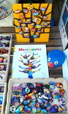 Magnets & Book & The Blue Bird of Happiness by Pandala Islands / Mesekavics