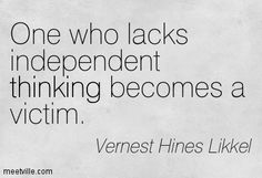 independent thinking - Google Search