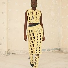 The 10 Best Sustainable Luxury Fashion Brands for 2021 Acne Studios, Fashion Brands, Fashion Show, Women's Fashion, Knitwear Fashion, Knit Fashion, Fashion Weeks, Fashion Designers, High Fashion