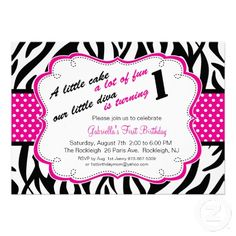 Birthday Invitation Girl Birthday Invitation Birthday Invite
