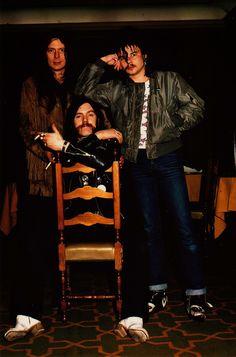 Fast Eddie Clarke & Philthy Animal Taylor & Lemmy Kilmister. MOTORHEAD