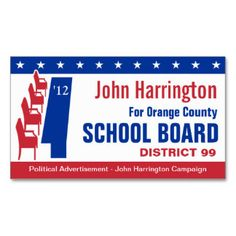 Political campaign school board business card pinterest political campaign school board business card pinterest political campaign business cards and campaign colourmoves