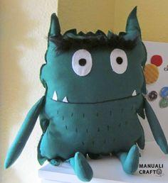 El monstruo de colores | Manualicraft - Amigurumi, scrap y costura creativa