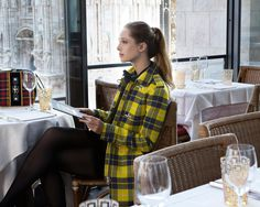 Fay City Diaries features the Women's Fall - Winter 2013/14 collection with the polished backdrop of Milan. Duffle Coat. http://www.fay.com/it/city-diaries/milano