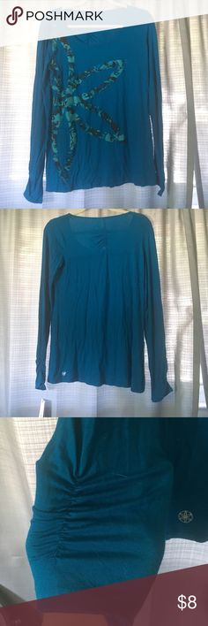 Gaiam long sleeve active top! Never worn! NWT! 95% rayon 5% spandex Tops Tees - Long Sleeve