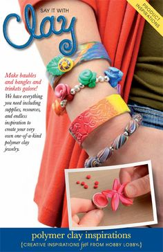 Make baubles and bangles and trinkets galore! We have everything you need including supplies, resources, and endless inspiration to create your very own one-of-a-kind polymer clay jewelry.