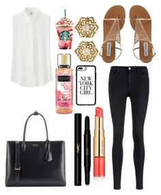 """""""Untitled #10156"""" by ohnadine on Polyvore featuring Uniqlo, Victoria, Victoria Beckham, Prada, Yves Saint Laurent, Estée Lauder, Casetify and Fred Leighton"""