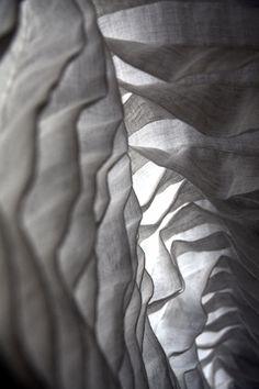 ravi design- study in pleated texture   curtain otaku