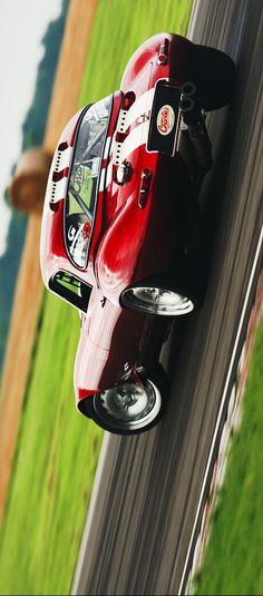 (°!°) Jaguar E-Type Series 1 drifting