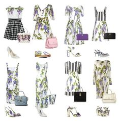 """""""Wisteria"""" by caprizy ❤ liked on Polyvore featuring Dolce&Gabbana, dolceandgabbana and dolcegabbana"""
