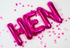 Pink Hen Party Balloons And Where To Buy Them For A Classy Pink Hen Party Theme