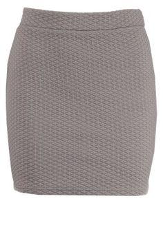 VISTA - Spódnica mini - szary