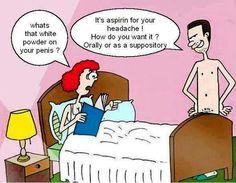 Aspirin and headache