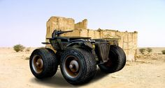 "Check out my @Behance project: ""Combat Monster Truck""…"