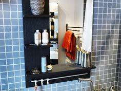Oglinda LILLÅNGEN îți ține toate accesoriile din baie la îndemână.