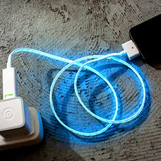 Glowing Charging Cable...because, why not??