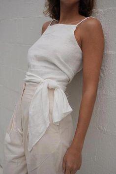 Fashion Tips Moda Linen Wrap Top Vintage White Linen Wrap Top Vintage White ST. AGNI [] The post Linen Wrap Top Vintage White appeared first on How To Be Trendy. Look Fashion, Korean Fashion, Fashion Outfits, Fashion Design, Fashion Men, Fashion Skirts, Fashion Hacks, Classy Fashion, Latex Fashion