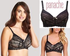 af92030089dba Panache Sophie Lace Nursing Bra Sizing1 Cup=1 inch difference UK D DD E/