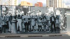 Britânico cria tour por melhores grafites de São Paulo