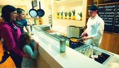 The Deck #Chefs Created #exclusively for our Wave Hotel guests, The Deck Restaurant offers a relaxed family dining. Just a two minute walk from the front of the Wave Hotel, you'll receive a warm welcome from one of our hosts who will show you to your table before you visit the served buffet. Yum!