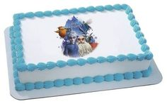 6 Round  Rise of the Guardians Believe Birthday  Edible Image CakeCupcake Topper >>> Details can be found by clicking on the image.(This is an Amazon affiliate link)