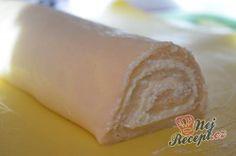 Rolované koláčky s tvarohem a hruškovými povidly | NejRecept.cz Dairy, Anna, Food, Author, Top Recipes, Pear, Essen, Meals, Yemek