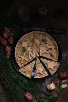 Torta rustica al salmone porri e topinambur   Smile, Beauty and More