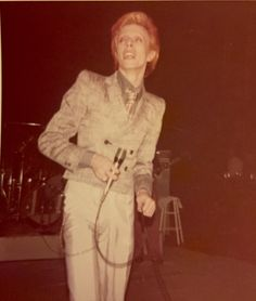 My pics David Bowie in Detroit