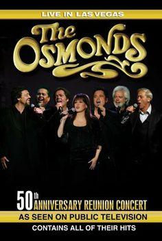 The Osmonds, grupo familiar estadounidense conformado por 7 hermanos entre los que había una sola mujer. Todos cantaban, bailaban, tocaban instrumentos, hacían sketches y siempre se mostraban sonrientes. Tuvieron gran éxito en la década de los 70s en giras internacionales, ventas de discos y especiales de televisión. En 2007 se reunieron para celebrar el 50 aniversario del grupo en las Vegas y grabaron un  DVD.  http://youtu.be/l1H_zdsx9wo