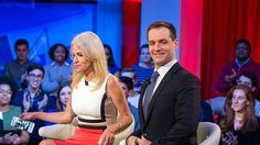 Trump Campaign Manager Kellyanne Conway and Clinton Campaign Manager Robby Mook speak during the event titled 'War Stories: Inside Campaign 2016' at the Harvard Institute of Politics Forum on December 1, 2016.