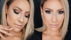 Cranberry Smokey Eyes with Dramatic Wing