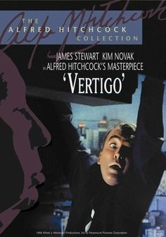 Vertigo (1958) One of Alfred Hitchcock's darkest and most compelling suspense films tells the story of police detective Scottie Ferguson (James Stewart), who has a crippling fear of heights -- and an all-consuming obsession with a married woman. When an old friend asks him to tail his wife (Kim Novak), Scottie is drawn into a vortex of deceit and murder. But that's only the beginning as a mesmerizing score draws Scottie to the film's haunting final shot.