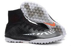 Compra Nike Mercurial Superfly X Street TF Turf negro/blanco/Hot Lava Zapatillas De Futbol online