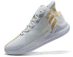 new style e5743 d8bd7 Latest adidas D Rose 9 white golden