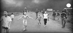 El horror de la guerra de Vietnam en una foto que dio la vuelta al mundo. Hace 4 decadas que el fotografo vietnamita Nick Ut capto esta imagen.