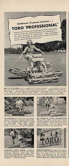 Toro Power Mower Professional (1950)