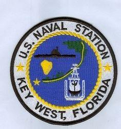 US NAVY PATCH - NAVAL STATION KEY WEST, FLORIDA