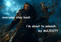 Very Oakenshield. Much majestic. Wow. - Album on Imgur