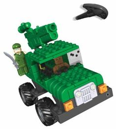K'NEX Collect & Build Xtreme Ops Mission: Jungle Guard by K'NEX. $14.99. For ages 5+. Features real working Suspension. Set includes 81 pieces. Complete mission with this battle ready vehicle. 2 K'nexmen, 1 Blaster, 2 missiles, and a graphic label sheet for added play. From the Manufacturer                Complete Mission: Jungle Guard with this battle-ready vehicle. The building set includes 81 pieces, 2 K'NEXmen, 1 blaster. 2 missiles and a graphic label sheet ...