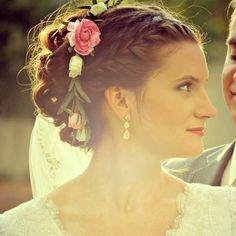 Wedding hair, wedding flowers, wedding, braids,