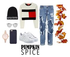 """"""""""" by fay-vianen ❤ liked on Polyvore featuring Tommy Hilfiger, One Teaspoon, adidas Originals, Local Heroes, Tory Burch and River Island"""