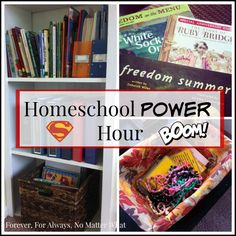 Homeschool Power Hour - easy ways to simplify your day