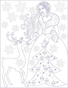 Free Coloring Pages: Winter coloring pages