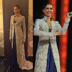 17 Outfits Only Deepika Padukone Can Pull Off Deepika Padukone Makeup, Coat Dress, Dress Up, Knot Bun, Simple Sarees, Pull Off, Thigh Highs, Royalty, Stylists