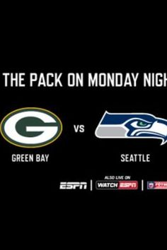 2a04e7fb4d2 Monday night foot ball packers vs seattle Seahawks 8 30