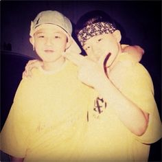 G-Dragon congratulates best friend, Taeyang, on his birthday with a childhood photo