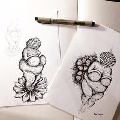 John Tenniel, Dream Tattoos, Future Tattoos, Pulp Fiction, Venus Tattoo, Fat Art, Art Costume, Illustration, Tattoo Designs